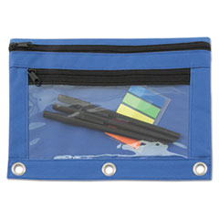 AVT 94038 Advantus Binder Pencil Pouch with Two Clear Pockets AVT94038