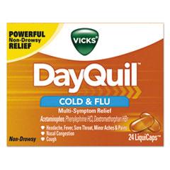 PGC 01443BX Vicks DayQuil Cold & Flu LiquiCaps PGC01443BX