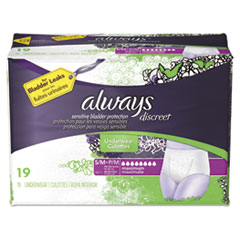 PGC 92735 Always Discreet Incontinence Underwear PGC92735