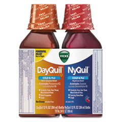 PGC 01479PK Vicks DayQuil/NyQuil Cold & Flu Liquid Combo Pack PGC01479PK