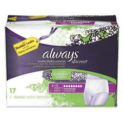 PGC 92736PK Always Discreet Incontinence Underwear PGC92736PK