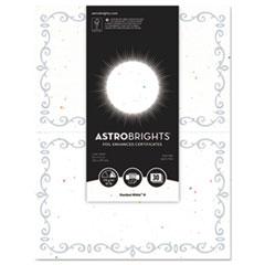 WAU 91110 Astrobrights Foil Enhanced Certificates WAU91110