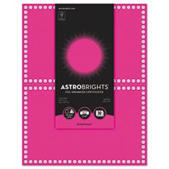 WAU 91107 Astrobrights Foil Enhanced Certificates WAU91107