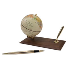 AVT 30506 Advantus Globe Holder with Pen Stand AVT30506