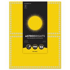 WAU 91106 Astrobrights Foil Enhanced Certificates WAU91106
