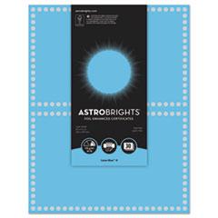WAU 91109 Astrobrights Foil Enhanced Certificates WAU91109
