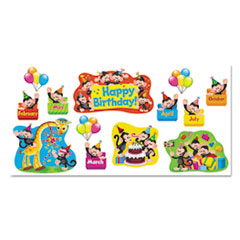 TEP 8341 TREND Monkey Mischief Classic Accents & Bulletin Board Sets TEP8341