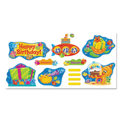 TEP 8305 TREND Sea Buddies Classic Accents & Bulletin Board Sets TEP8305