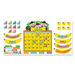 TEP 8340 TREND Monkey Mischief Classic Accents & Bulletin Board Sets TEP8340