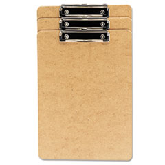 UNV 05563 Universal Hardboard Clipboard with Low-Profile Clip UNV05563