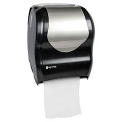 SJM T1370BKSS San Jamar Tear-N-Dry Touchless Roll Towel Dispenser SJMT1370BKSS