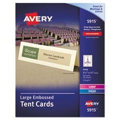AVE 5915 Avery Tent Cards AVE5915