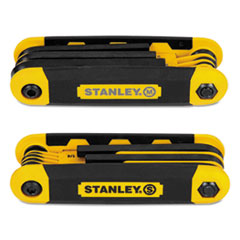 BOS STHT71839 Stanley Folding Metric and SAE Hex Keys BOSSTHT71839