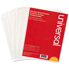 UNV 21124 Universal Standard Sheet Protector UNV21124