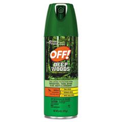 SJN 611081EA OFF! Deep Woods Aerosol Insect Repellent SJN611081EA