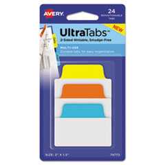 AVE 74772 Avery Ultra Tabs Repositionable Tabs AVE74772