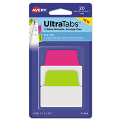AVE 74764 Avery Ultra Tabs Repositionable Tabs AVE74764