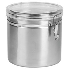 OSI SSC0165 Office Settings Stainless Steel Canisters OSISSC0165