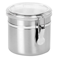 OSI SSC0381 Office Settings Stainless Steel Canisters OSISSC0381