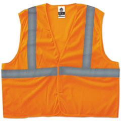 EGO 20969 ergodyne GloWear 8205HL Type R Class 2 Super Econo Mesh Safety Vest EGO20969