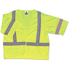 EGO 22019 ergodyne GloWear 8310HL Type R Class 3 Economy Safety Vest EGO22019