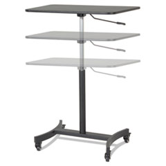VCT DC500 Victor DC500 High Rise Collection Mobile Adjustable Standing Desk VCTDC500