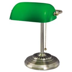 ALE LMP557AB Alera Banker's Lamp ALELMP557AB