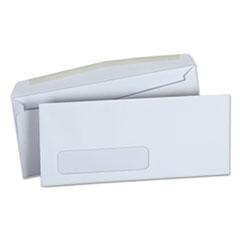 Window Business Envelope, Side, #10, 4 1/8 x 9 1/2, White, 500/Box