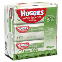 KCC 43403PK Huggies Natural Care Baby Wipes KCC43403PK