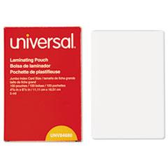 UNV 84680 Universal Laminating Pouches UNV84680