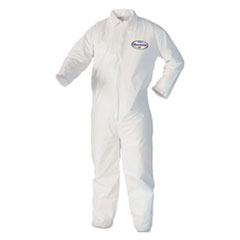KCC 44307 KleenGuard* A40 Zipper Front Liquid and Particle Protection Coveralls KCC44307