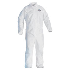 KCC 44313 KleenGuard* A40 Zipper Front Liquid and Particle Protection Coveralls KCC44313