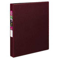 AVE 27252 Avery Durable Non-View Binder with DuraHinge and Slant Rings AVE27252