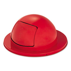 RCP 1855RED Rubbermaid Commercial Towne Series Dome Top Waste Receptacle Lids RCP1855RED