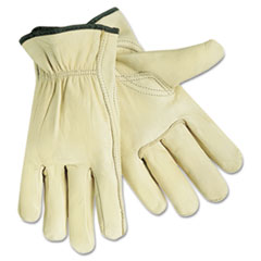 CRW 3211XL MCR Safety Full Leather Cow Grain Gloves CRW3211XL