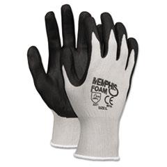 CRW 9673L MCR Safety Economy Foam Nitrile Gloves CRW9673L