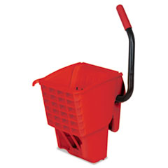 RCP 612788RED Rubbermaid  Commercial WaveBrake  Side-Press Wringer RCP612788RED