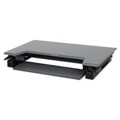 ERG 33397085 WorkFit by Ergotron WorkFit-T Sit-Stand Desktop Workstation ERG33397085