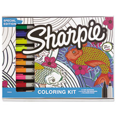 SAN 1989554 Sharpie Adult Coloring Kit SAN1989554