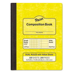 PAC MMK37163 Pacon Composition Book PACMMK37163