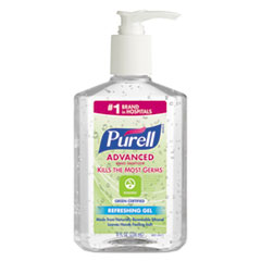 GOJ 969112EA PURELL Advanced Hand Sanitizer Green Certified Gel GOJ969112EA