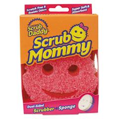 SCB SM1CTEA Scrub Daddy Scrub Mommy Dual-Sided Sponge SCBSM1CTEA