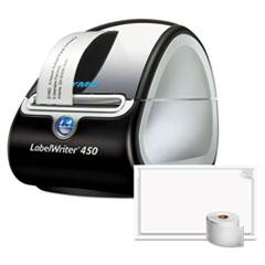 DYM 1759727 DYMO LabelWriter 450 Turbo PC/Mac Connected Label Printer Bundle DYM1759727