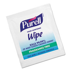 GOJ 902210BX PURELL Sanitizing Hand Wipes GOJ902210BX