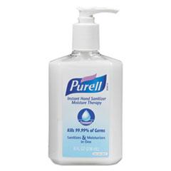 Moisture Therapy Instant Hand Sanitizer, 236 mL Pump Bottle, White