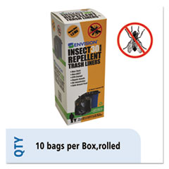 STO STOP3340K13R Stout by Envision Insect-Repellent Trash Bags STOSTOP3340K13R