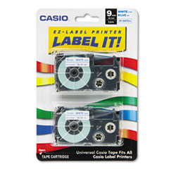 CSO XR9WEB2S Casio Tape Cassette for KL Label Makers CSOXR9WEB2S