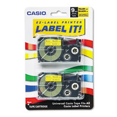 CSO XR9YW2S Casio Tape Cassette for KL Label Makers CSOXR9YW2S