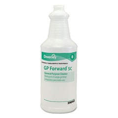 DVO D939042A Diversey GP Forward Super Concentrated General Purpose Cleaner Capped Bottle DVOD939042A