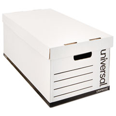UNV 95220 Universal Medium-Duty Easy Assembly Storage Box UNV95220